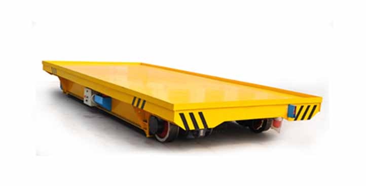 Billet handling trailer on track for casting plant