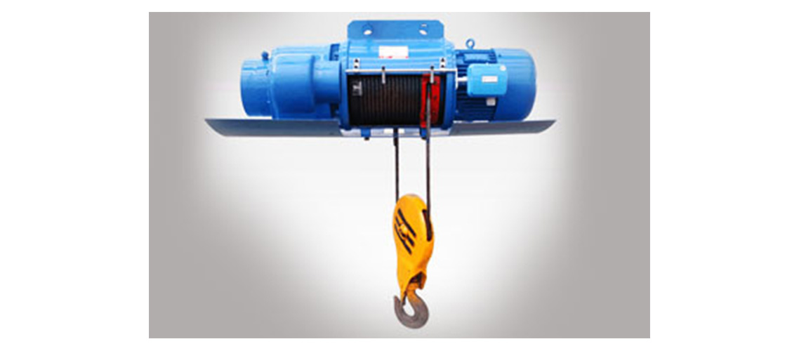 High strength electric wire rope hoist for warehouse-1138-500