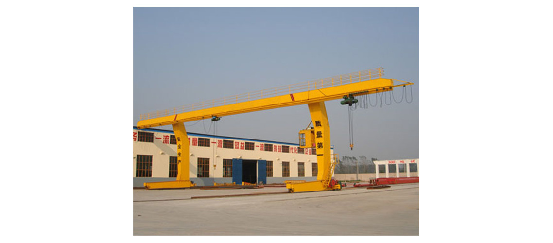 L model rail travelling hook gantry crane-1138-500