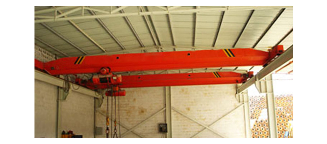 Single girder electric overhead crane with hoist-1138-500