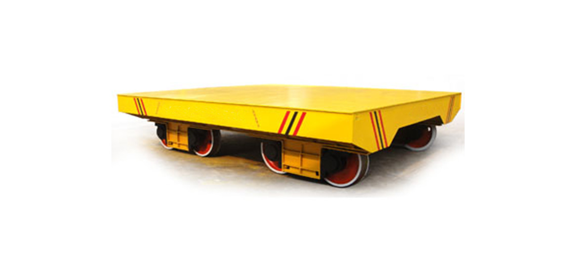 Towed rail trailer for steel mill industry-1138-500