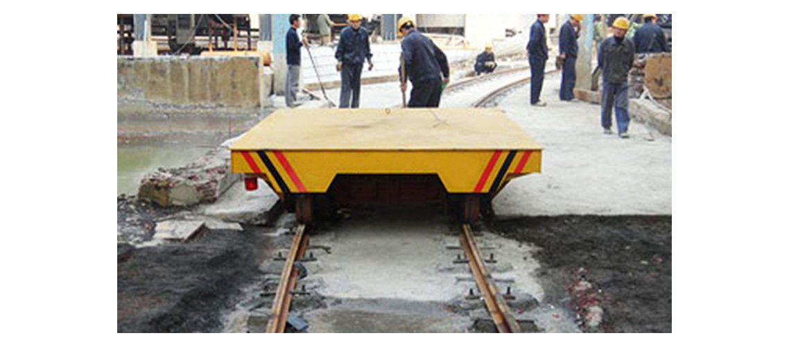 s and arc-shaped rails heavy industry cargo transfer wagon-1138-500
